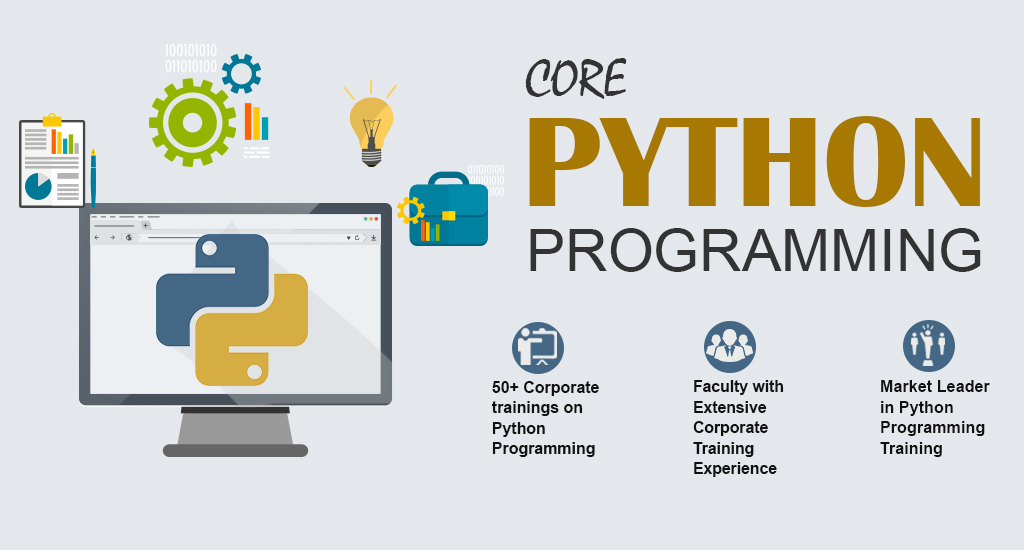 Core and Advance Python training and course in kanpur