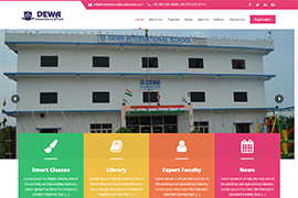 dewainternationalschool.com | CGtech It services